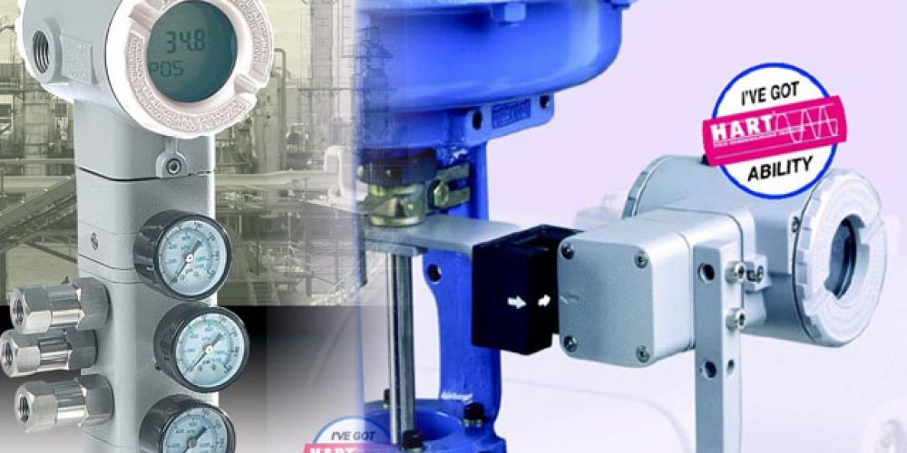 Transmisor de posición y Posicionador electroneumaticos